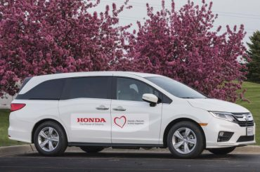 Modified Honda Odyssey minivans will transport coronavirus patients in Detroit