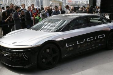 Lucid Motors agrees to go public in merger with blank-check firm